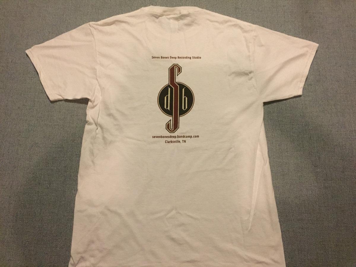 Seven Bones Deep Recording Studio Logo T-Shirt, Front/Back