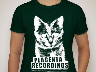 Placenta Recordings/Ladies Forest Green T-Shirt (SPARTY ON!!!) main photo