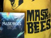 Bee Mask T-shirt and BETA album super mega combo hit. photo