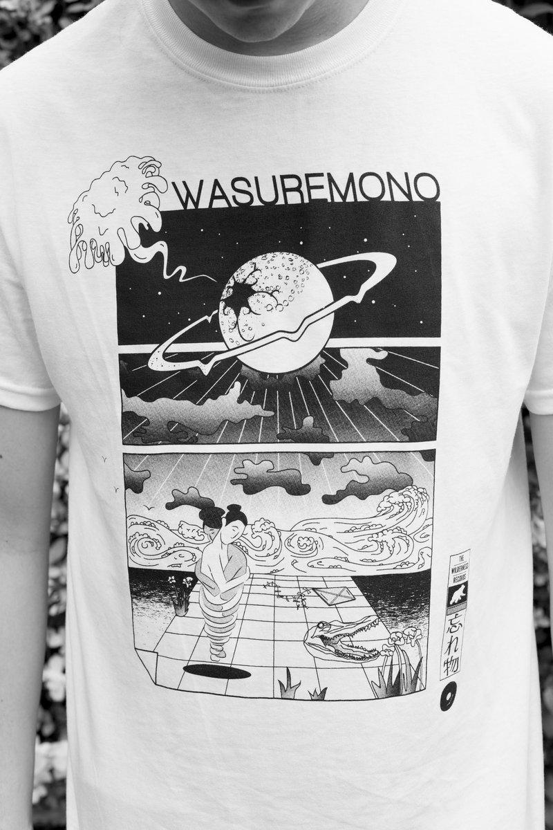 Wasuremono Screen Printed T Shirt Wasuremono