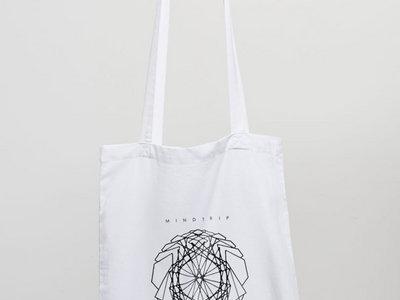 MindTrip White Tote Bag main photo