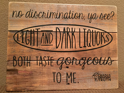 "LYRIC SIGNS: ""No discrimination..."" main photo"