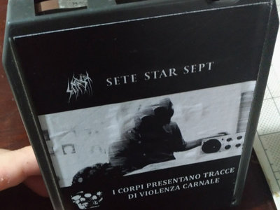 SETE STAR SEPT / I Corpi Presentano Tracce Di Violenza Carnale - 8-Track Cartridge main photo