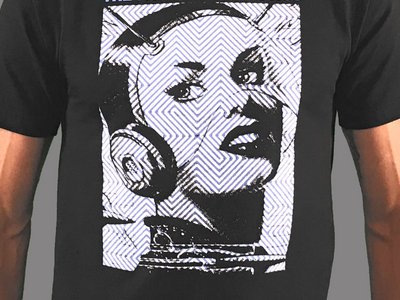 Space Babe T-Shirt-Designed by Jason Link main photo