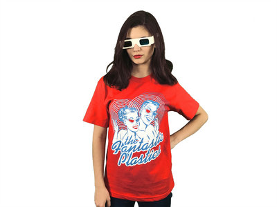 Living in 3D Red T-Shirt-Designed by Jason Link main photo