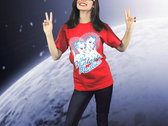 Living in 3D Red T-Shirt-Designed by Jason Link photo