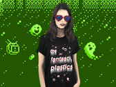 Pixel Art Shirt - Black, White and Red designed by NMLSTYL photo