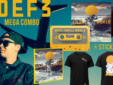 Mega Combo - LP + CD + Cassette + T-Shirt + Stickers + Digital Copy main photo
