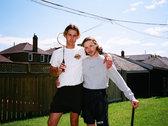 """Heather Grey Long Sleeve """"Jaunt"""" T-Shirt photo"""