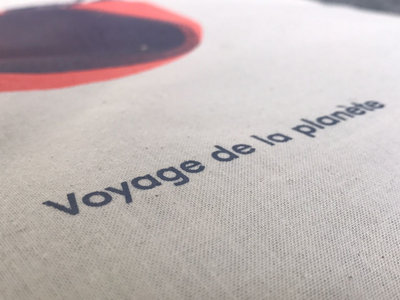 """Marc Romboy - Voyage de la planète"" Cotton Tote Back With Special Artwork main photo"