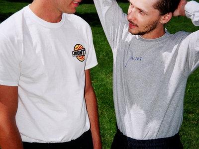 "Heather Grey Long Sleeve ""Jaunt"" T-Shirt main photo"