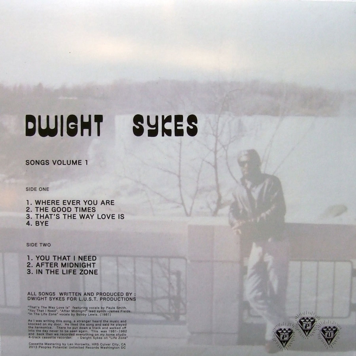 Songs Volume One | Dwight Sykes