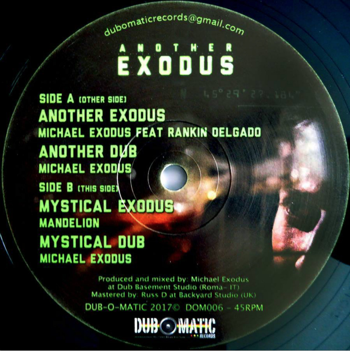 mystical exodus dub o matic michael exodus
