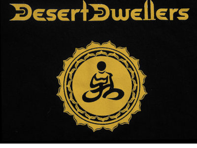 Desert Dwellers Sacred Geometry T-Shirt Gold Ink main photo