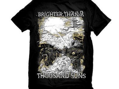 Brighter Than a Thousand Suns Wolves and the Apocalypse Printed Tee main photo