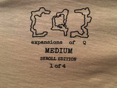 expansions of Q - no. 7 tee [skroll edition] photo