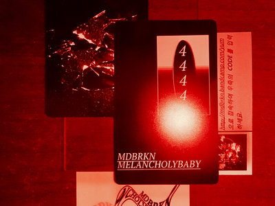 44:44 Music Card (Limited Qty) - Brokenbaby Project main photo