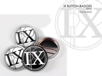 IX Button Badges (x2) main photo