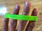 """""""THE COURAGE TO SING IT"""" bracelet photo"""