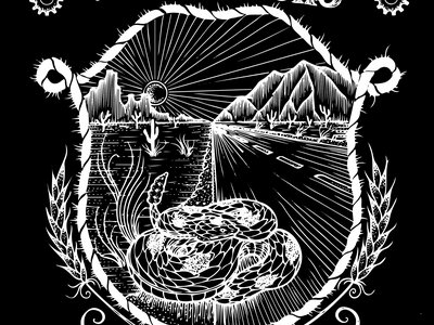 Rattlesnake design T-shirt main photo