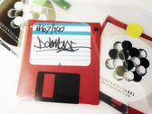 "Dday One, Artifact Ep, Floppy Disk, 3.5"", Download Code, Limited Edition, Signed, Numbered photo"