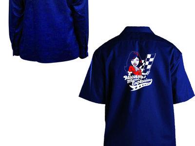 Dickies short-sleeved work shirt, Dark Navy Blue, 2015 Rock'n'Roll Revue main photo