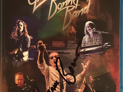 Graham Bonnet Band - Live...Here Comes The Night SIGNED Blu-Ray main photo