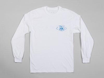 Numbers Fingerprints L/S T-Shirt (White/Blue) main photo