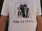 Sink Ya Teeth 'Clap' T-Shirt - WHITE photo