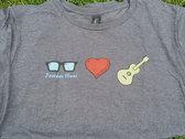 I Heart Guitar T photo
