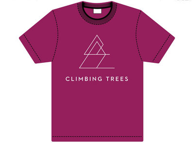 PINKY PURPLE Adult Treeshirt main photo