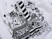 Numbers Boat Party T-Shirt (White/Black) photo