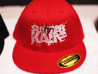 Sutter Kain Fitted Hat (Red & White) main photo