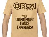 Play! Festival T-shirt (men) photo