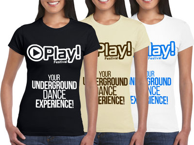 Play! Festival T-shirt (ladies) main photo