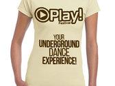 Play! Festival T-shirt (ladies) photo