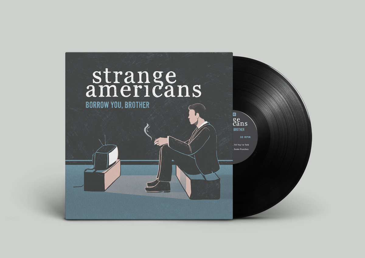 The Physical Version Of Borrow You, Brother As A Vinyl Record, With Artwork  By Dylan Fowler Of Denver, CO. Includes Unlimited Streaming Of Borrow You,  ...