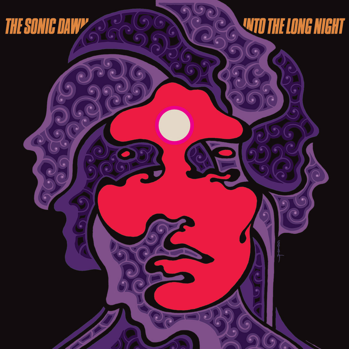 THE SONIC DAWN- Into The Long Night REISSUE | HEAVY PSYCH SOUNDS Records