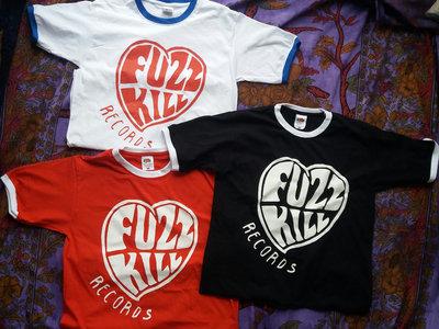 Fuzzkill heart logo ringer tee main photo