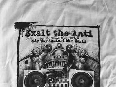 HIP HOP AGAINST THE WORLD tees by NicNak main photo
