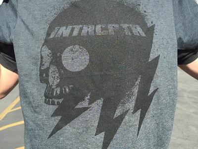 "INTRCPTR ""LIGHTNING SKULL"" T-Shirts & Free INTRCPTR EP main photo"