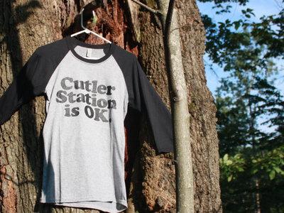 Cutler Station Is OK 3/4 Sleeve Baseball Shirt main photo