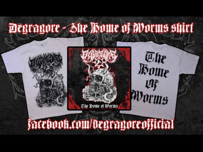 The Home of Worms shirt main photo