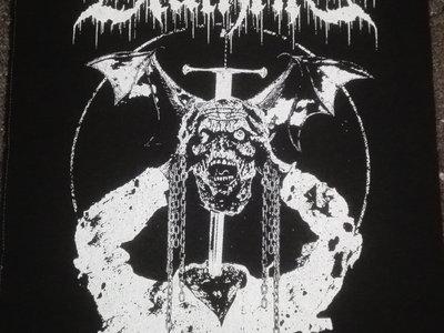 "DEATHRITE - ""Rotten & Violent"" Backpatch main photo"