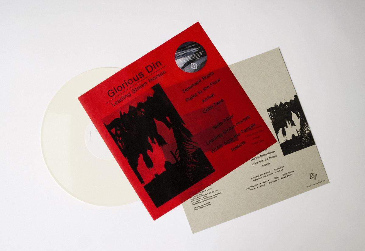 B F E 40 - GLORIOUS DIN - Leading Stolen Horses LP   Btx3R