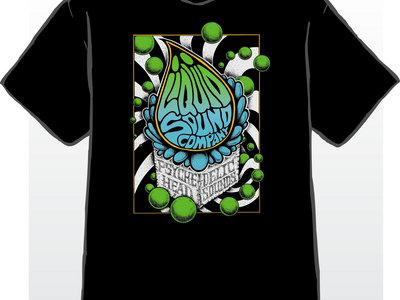 Liquid Sound Company logo design T-shirt main photo
