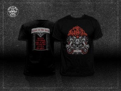 """Metal to the Bone"" t-shirt main photo"