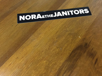 Nora & the Janitors Stickers main photo