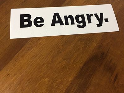 """Be Angry"" Stickers main photo"