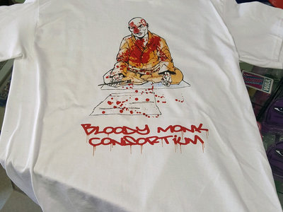 Blood Letter T-Shirt  w/ Sticker Pack & 5x7 Print main photo